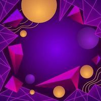 retro futurisme met paarse kleur achtergrond