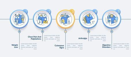 gezondheidszorg en geneeskunde vector infographic sjabloon