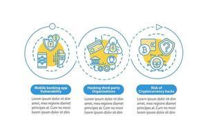 cryptocurrency vector infographic sjabloon verdienen
