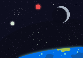 maan spacescape vector