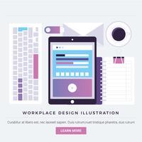 Vectorelementen en elementen van digitaal ontwerp