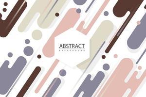 geometrische kleurrijke vormen als achtergrond vector