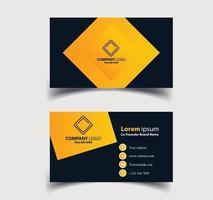 visitekaartje - creatieve en schone sjabloon voor visitekaartjes. vector