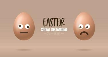 pasen sociale afstandsbanner