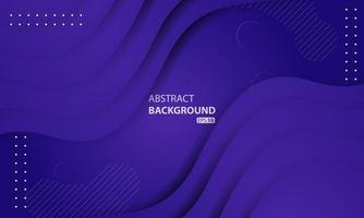 abstracte vloeibare achtergrond met paarse kleurverloop. dynamisch gestructureerd ontwerp als achtergrond. eps 10 vector