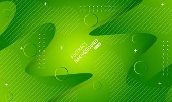 minimale geometrische groene achtergrond. dynamische vormensamenstelling. vector
