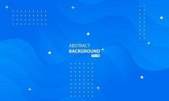 abstracte blauwe vloeibare kleurenachtergrond. golvende geometrische achtergrond. vector
