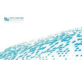 abstract blauw stippen halftoon minimaal ontwerp van decoratieachtergrond. illustratie vecto eps10 vector