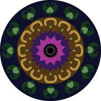 abstracte cirkel chakra vector