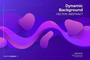 abstracte dynamische achtergrond vector
