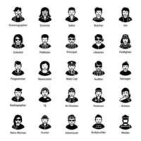 menselijke avatars-vectoren