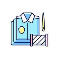 bulkbestellingen RGB-kleur pictogram vector