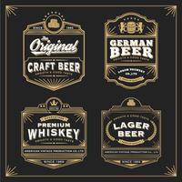Vintage frame ontwerp voor labels banner sticker en ander ontwerp. vector