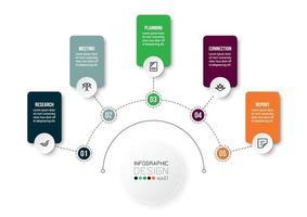 zakelijke of marketing diagram infographic sjabloon.