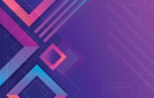 abstracte geometrische vorm verloop achtergrond vector