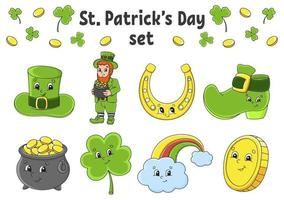 st. patrick's day ingesteld