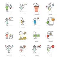 e-commerce stripfiguren