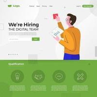 digitaal team dat we aannemen