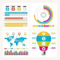 Vector Infographic ontwerpelementen
