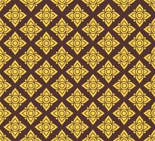 lijn Thaise stof naadloze patroon achtergrond