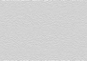 abstracte dunne zwarte strepen ruwe horizontale lijnen op een witte achtergrond. vector