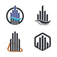 onroerend goed logo afbeeldingen instellen
