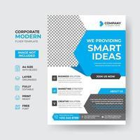 moderne zakelijke flyer sjabloonontwerp