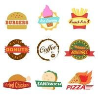 fastfood-logo vector