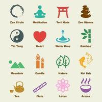 zen vector-elementen