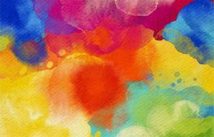 buitensporige abstracte kleurrijke aquarel achtergrond vector