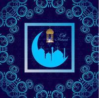 abstracte heilige elegante decoratieve achtergrond voor eid mubarak-vector vector