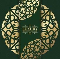 luxe donker bloemen ornament achtergrond concept vector