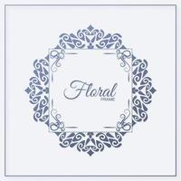 decoratieve ornament frame achtergrond vector