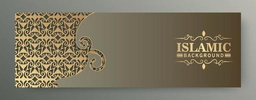 premium menukaart banner sjabloonontwerp vector