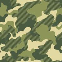 camouflage print groene naadloze grafische achtergrond. creatieve vectortextuur. groene herhaalde kleuren vector camouflage. kaki camouflage. naadloze patroon.