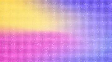 kleurrijke technische achtergrond, hi-tech digitaal en unicon conceptontwerp vector