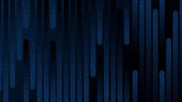 futuristische snelheidslijncircuitmicrochip op donkerblauwe technologieachtergrond vector
