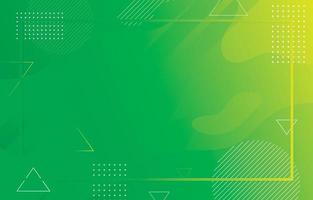 abstact minimalistische vloeiende groene achtergrond vector