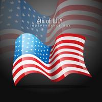 Amerikaanse onafhankelijkheidsdag vector