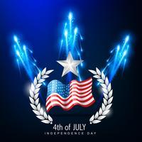 4 juli onafhankelijkheidsdag vector