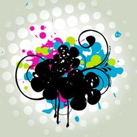 Abstract grungy ontwerp vector