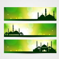 eid banners vector