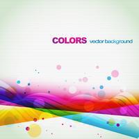 kleurrijke lijnen eps10