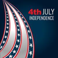 4 juli onafhankelijkheid vector