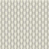 naadloze abstracte zwart-wit textuur patroon achtergrond van curl lijn