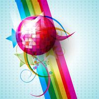 vector disco bal