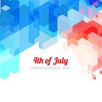 abstract 4 juli vector