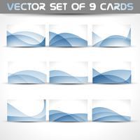 vector set visitekaartjes
