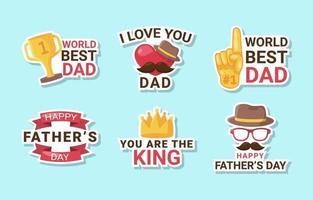 vaders stickercollectie vector