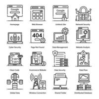 moderne webhostingelementen